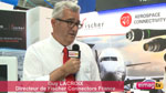 Guy Lacroix de Fischer Connectors au Bourget 2017